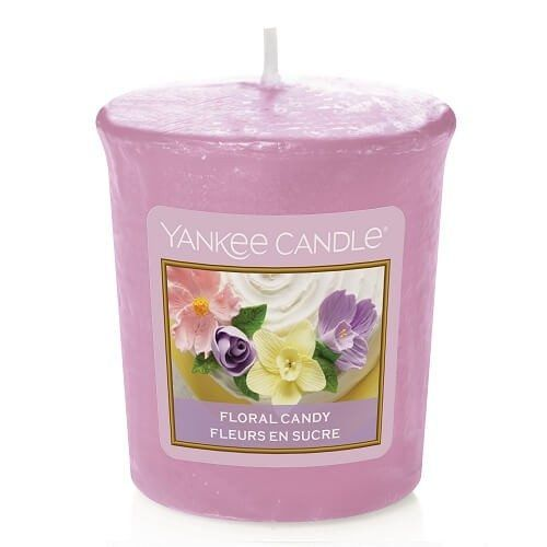 Floral Candy Votive Yankee Candle