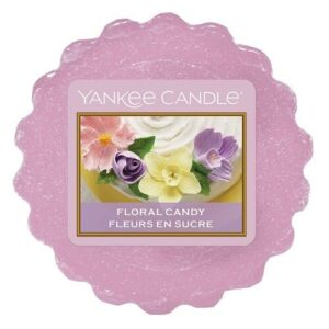 Floral Candy Wax Melt Tart Yankee Candle