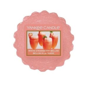 White Strawberry Bellini Waxmelt Yankee Candle