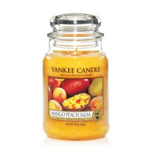 Mango Peach Salsa Large Jar Yankee Candle