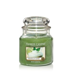 Vanilla Lime Medium Jar Yankee Candle