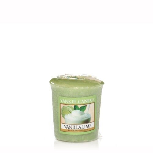 Vanilla Lime Votive Yankee Candle