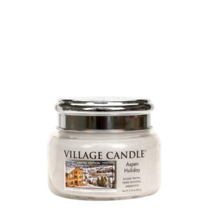 Aspen Holiday Village Candle Geurkaars Small