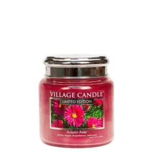 Autumn Aster Village Candle Geurkaars Medium
