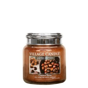Chestnut Spice Village Candle Geurkaars Medium