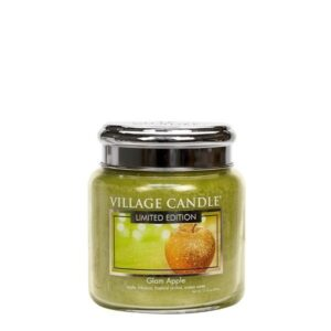 Glam Apple Village Candle Geurkaars Medium