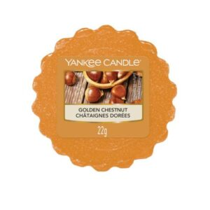 Golden Chestnut Wax Melt Tart Yankee Candle