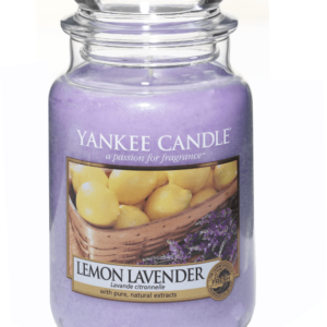 Lemon Lavender Large Jar Yankee Candle