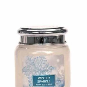 Winter Sparkle Village Candle Geurkaars Mini