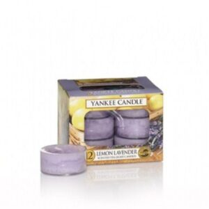 Lemon Lavender Tea Lights Yankee Candle