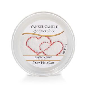 Snow in Love Scenterpiece Melt Cup Yankee Candle