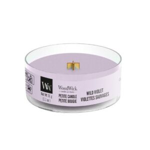 WoodWick Wild Violet Petit Candle