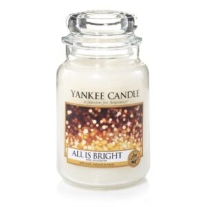 All is Bright Large Jar Yankee Candle