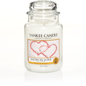 Snow in Love Large Jar Yankee Candle