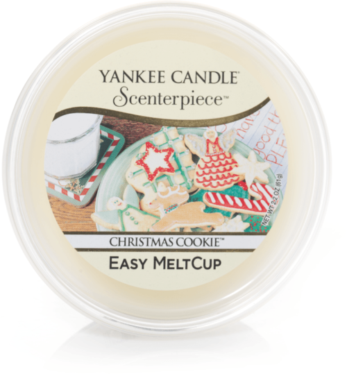 Christmas Cookie Scenterpiece Melt Cup Yankee Candle
