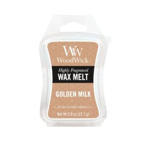WoodWick Golden Milk Wax melt