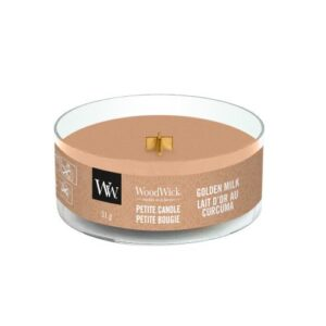 WoodWick Golden Milk Petite Candle