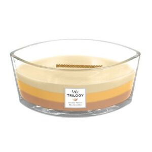 Golden Treats WoodWick Trilogy Ellips Geurkaars