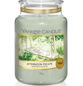 Afternoon Escape Large Jar Yankee Candle