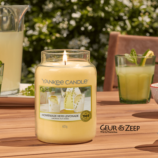 Homemade Herb Lemonade Yankee Candle