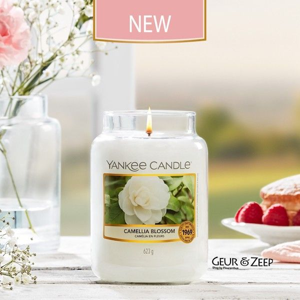 Camellia Blossom Yankee Candle Geurkaarsen