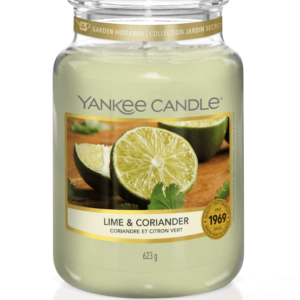 Lime & Coriander Large Jar Yankee Candle