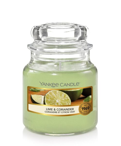 Lime & Coriander Small Jar Yankee Candle