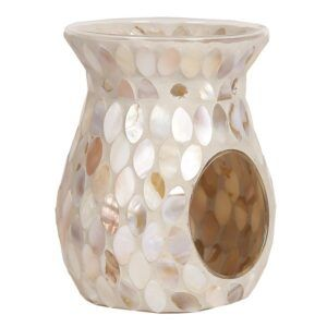 mosaic-cracle-oil-waxmelt-burner-motherofpearl-woodbridgewinkel-www-geurenzeepshop.nl