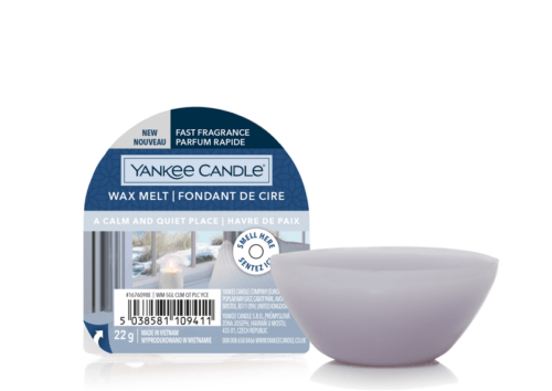 A Calm and Quiet Place Wax Melt Yankee Candle